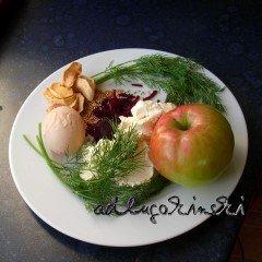 ☕ Rezept: Frischkäsecreme mit Rote Bete, Apfel, Ei, Dill, Senfkörnern Kulturmagazin 8ung.info Elke Wilkenstein