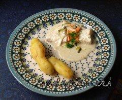 Fisch-Gemüse-Pfanne und Bamberger Hörnchen