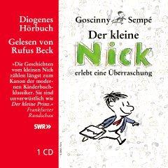 Hörbuch-Tipp: Der kleine Nick ist wieder da von Goscinny und Sempé, gelesen von Rufus Beck | Kulturmagazin 8ung.info