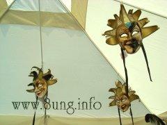 Die Fledermaus Masken