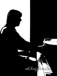 Kleines Theater: Pianist, Klavierspieler