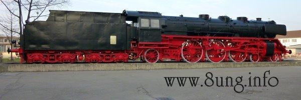 Bild des Tages: Lokomotive im Ruhestand Kulturmagazin 8ung.info Dorle Knapp-Klatsch