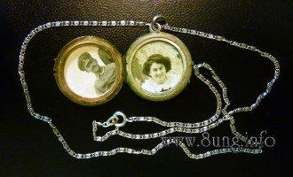 Bild des Tages: Silbernes Medaillon von 1915 | Kulturmagazin 8ung.info