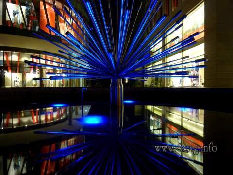 Bild des Tages: Brunnen in Stuttgart auf der Königsstraße Kulturmagazin 8ung.info Dorle Knapp-Klatsch