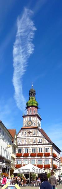 ☼ Wetter am 28. September 2012 - Federwolken am blauen Himmel | Kulturmagazin 8ung.info