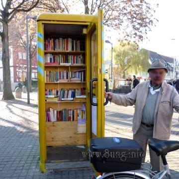 ❢ Clever: Mini-Bibliothek - Öffnungszeiten täglich von 0 bis 24 Uhr | Kulturmagazin 8ung.info