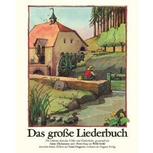 ♫ Musikbuchtipp: Das große Liederbuch – mit Text, Noten und vielen bunten Bildern von Tomi Ungerer | Kulturmagazin 8ung.info