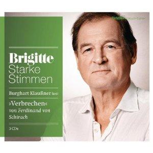 """✒ Hörbuchtipp: """"Verbrechen"""" von Ferdinand von Schirach, gelesen von Burghart Klaußner Kulturmagazin 8ung.info Gesine Bodenteich"""
