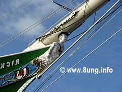 Segelschiff Galeerenfigur