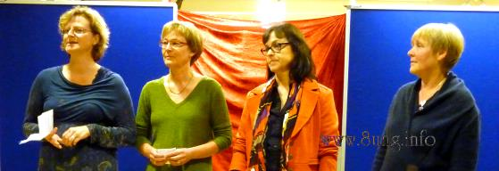 ♀ 13. Frauenlesenacht in Kirchheim unter Teck 2012 Kulturmagazin 8ung.info Dorle Knapp-Klatsch