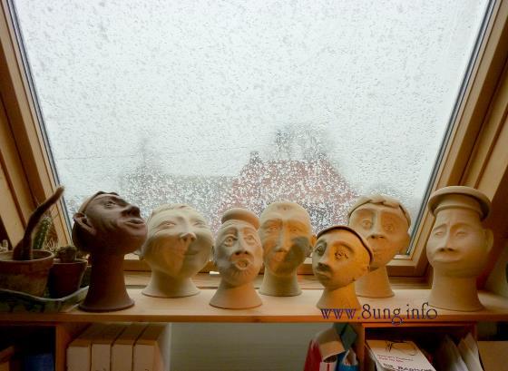 ☼ Bild des Tages: Wetter am 23. März - Schnee in großen Flocken | Kulturmagazin 8ung.info