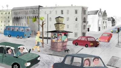 ☛ Trickfilm-Tipp: The Kiosk - Olga im Glück | Kulturmagazin 8ung.info