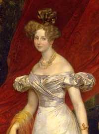Porträt der Großfürstin Elena Pawlowna von Russland und ihrer Tochter Maria