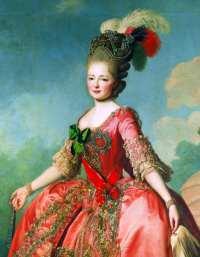 Die junge Großfürstin Maria Fjodorowna
