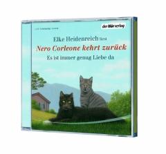 ✍ Hörbuchtipp: 1. Nero Corleone und 2. seine Rückkehr – von und mit Elke Heidenreich | Kulturmagazin 8ung.info