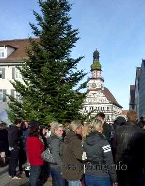 Heiligabend 2013 in Kirchheim unter Teck