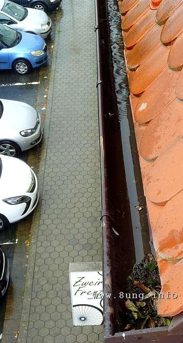 w.dachrinne.regen.wasser.auto (5)