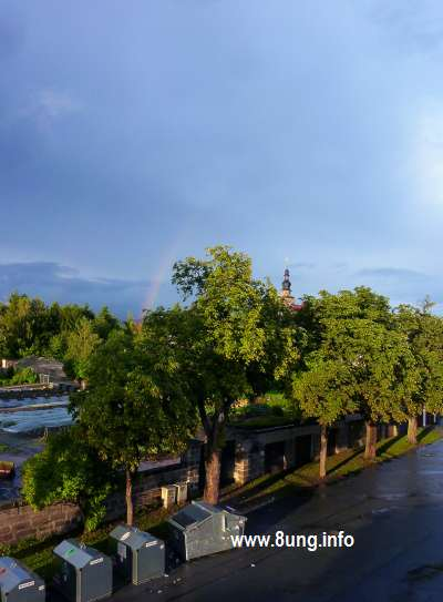 Regenbogen über Sankt Georgen