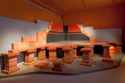 Museums-flatrate im Kindermuseum, Hypokaustenanlage