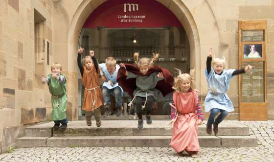 Museums-Flatrate im alten Schlosss in Stuttgart