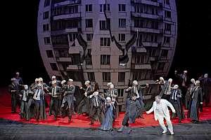 Foto A.T. Schaefer, Mussorgskij in der Oper Stuttgart