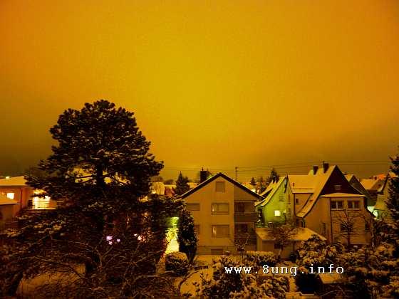 ❢ Bild des Tages: Stille Nacht über Kirchheim | Kulturmagazin 8ung.info