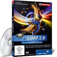 ✍ DVD-Video-Tipp: GIMP 2.8 - Das umfassende Training | Kulturmagazin 8ung.info