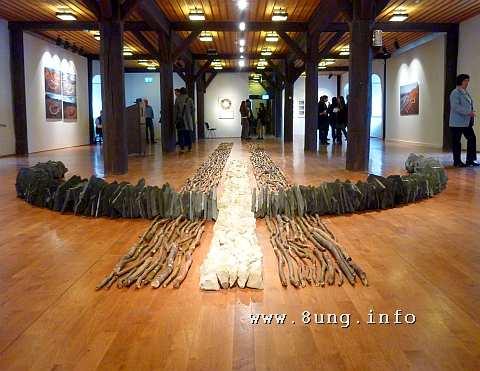 ❢ Land-Art im Kornhaus | Ausstellungs-Tipp Kulturmagazin 8ung.info Dorle Knapp-Klatsch