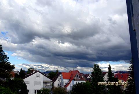 ☼ Wetter vor Juni-Vollmond 2016: blaue Flecken am grauweissen Himmel Kulturmagazin 8ung.info Elke Wilkenstein