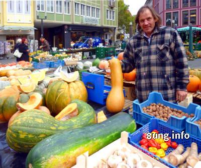 ☼ Herbstwetter im Oktober 2016: Kürbisse überschwemmen den Markt | Kulturmagazin 8ung.info