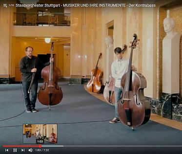 "Musikinstrumente: Kontrabass - ""Rheingold"" und ""La Sonnambula"" | Kulturmagazin 8ung.info"