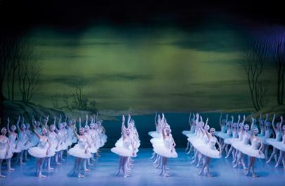 Schwanensee mit dem St. Petersburg Festival Ballet