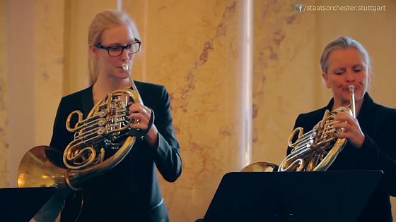 Weihnachtsgruss der Blechbläser zum Advent - Staatsorchester Stuttgart Kulturmagazin 8ung.info Dorle Knapp-Klatsch