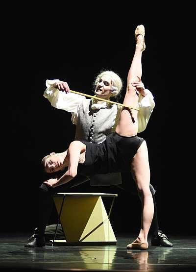 Balletttänzer: Maurus Gauthier, Sandra Bourdais