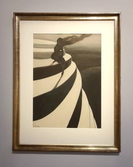 Léon Spilliaert: Schwindel (1908) im MuZee Ostende