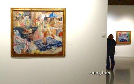 """Königliches Museum der Schönen Künste Brüssel: Bild von Rik Wouters - """"Bügelnde Frau"""""""