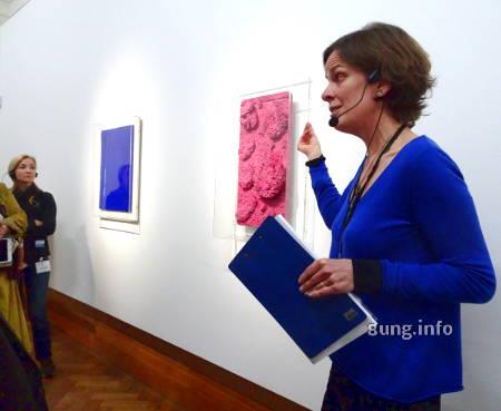 Yves Klein im Museum Bozar - Presseführung mit Isabell Vermote