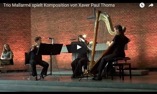 Video:Trio Mallarme spielt Xaver Paul Thoma