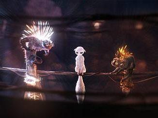 """Szene aus dem Trickfilm """"Shine"""""""