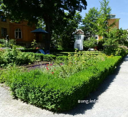 Dichterklause in Schillers Garten in Jena
