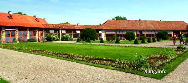 Orangerien von Schloss Belvedere in Weimar