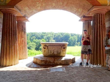Römisches Theater im Park an der Ilm