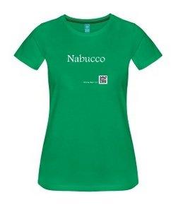 Nabucco auf dem T-Shirt