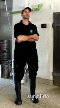 Braumeister in der Brauerei