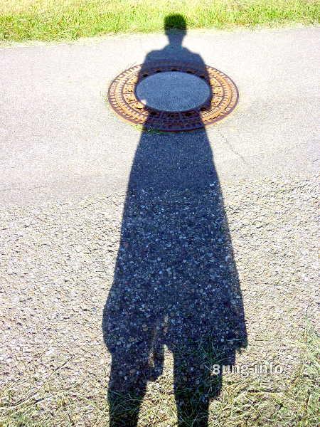 Frauen-Schatten Heiligenschein