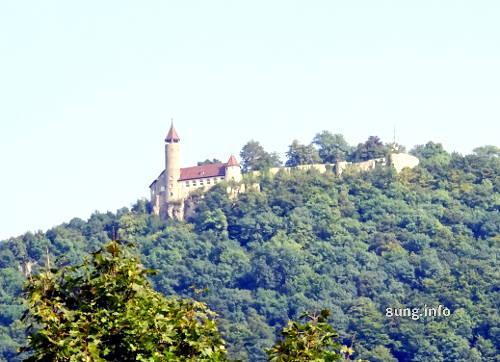 Burg Teck mit Tele