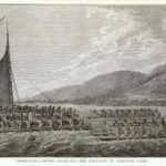 57_John Webber_Tereoboo, King of Owyhee, bringing Presents to Capt. Cook, Paris, 1785, Copyright Niedersächsisches Landesmuseum Hannover