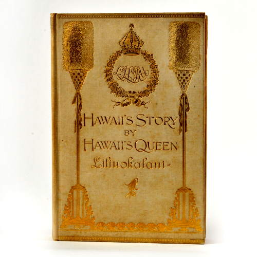 Hawaii.k%c3%b6nigin liliuokalanis geschichte des k%c3%b6nigreichs hawaii boston 1898 copyright privatsammlung foto sharohk shalchi