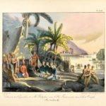 hawaii.Ludwig Choris_Entrevue de l'Expedition de M. Kotzebue, avec le Roi Tammeamea, Paris, 1826, Copyright Privatsammlung, Foto Sharokh Shalchi_1500px