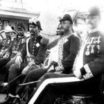 Treffen des samoanischen Königs Malietoa Laupepa mit dem hawaiischen Gesandten John E. Bush auf dem hawaiischen Kriegsschiff Kaimiloa, Copyright L. Gonschor